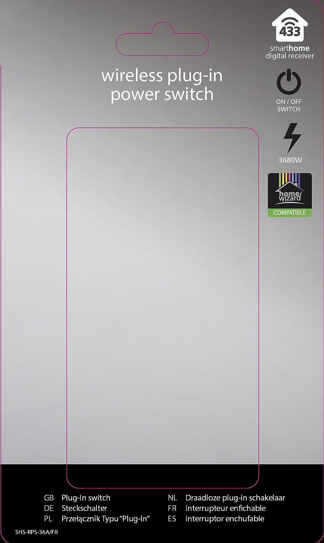 R/écepteur domotique int/érieur Prise command/ée 3600 W Smartwares