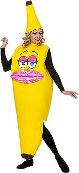 WIDMANN traje Banana para adulto, Multicolor, 68584: Amazon.es ...