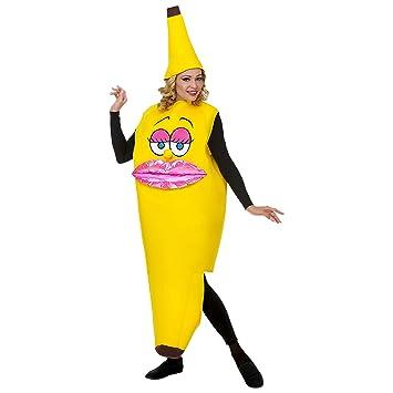 WIDMANN traje Banana para adulto, Multicolor, 68584: Amazon ...