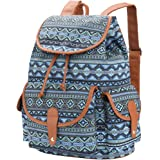 VBG VBIGER Canvas Backpack Backpack Purse Casual Daypack Travel Daypack Boho Bag