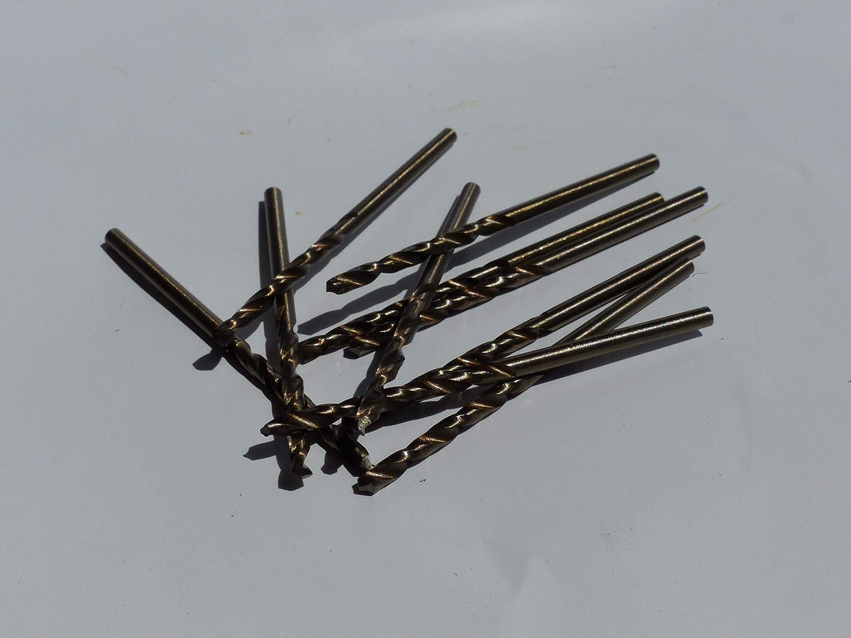 Rechtsschneidend HSS//Cobalt 5/% DIN 338 Bohrfux Metallbohrer Edelstahlbohrer /Ø 7,3mm Spiralbohrer kurz Typ N