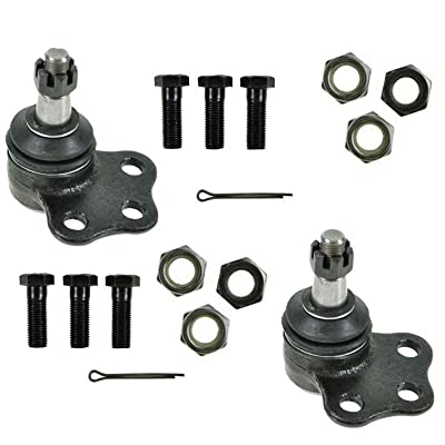 2WD ONLY - Both (2) Brand New Driver & Passenger Side Front Upper Ball Joint 10-Year Warranty: Automotive