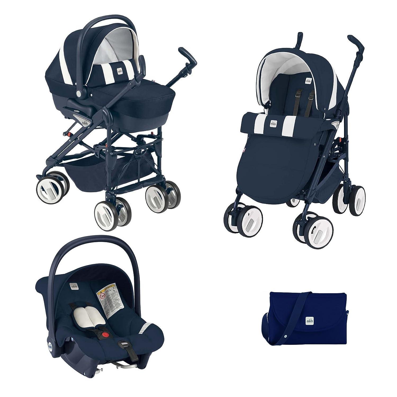 Cam - Trio Combi Baby Cam + cuna Azzurra + cambiador con ...