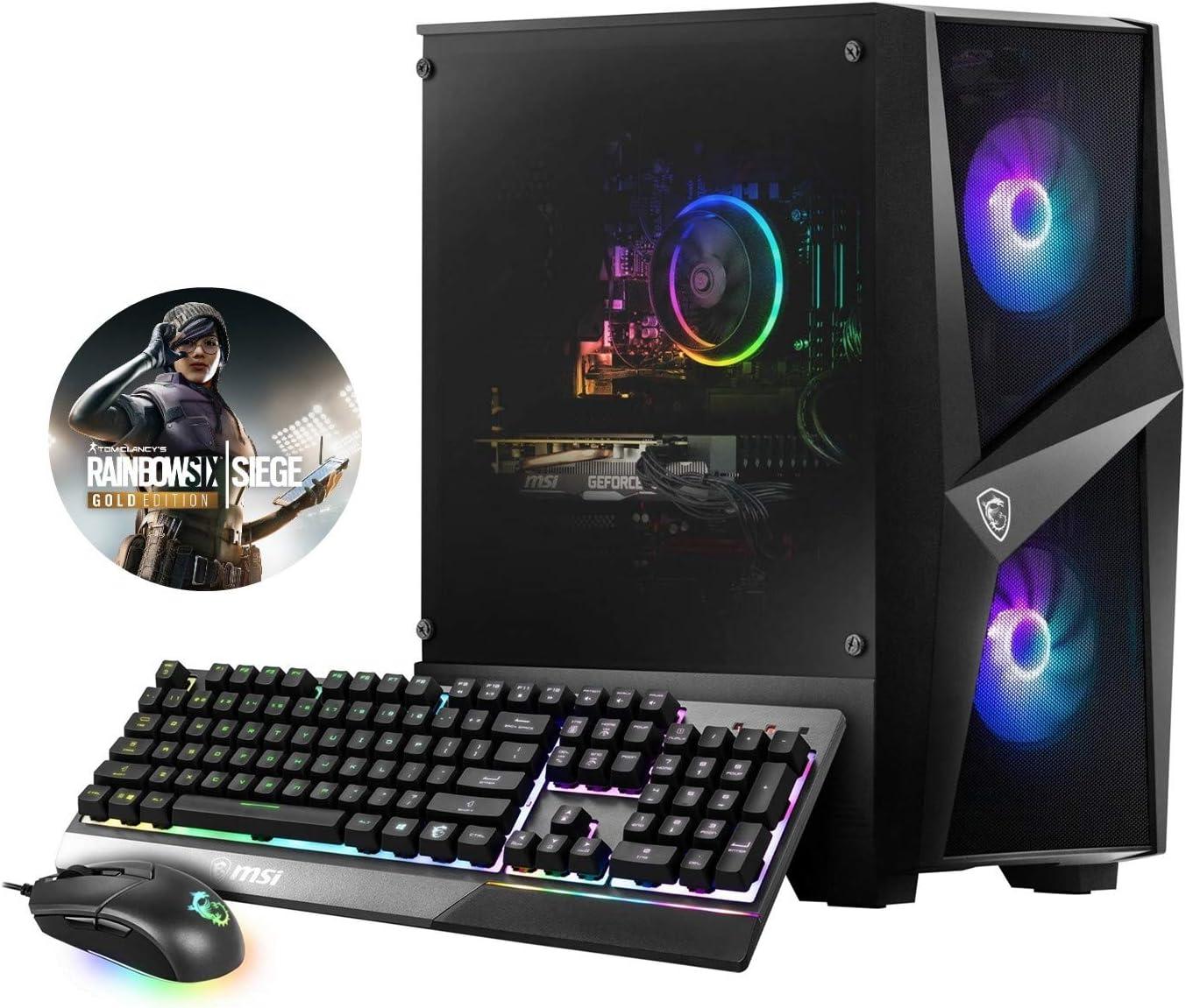 MSI Codex R 10SC-002US (i7-10700F, 16GB RAM, 512GB SSD, RTX2060 6GB, Windows 10) Gaming Desktop