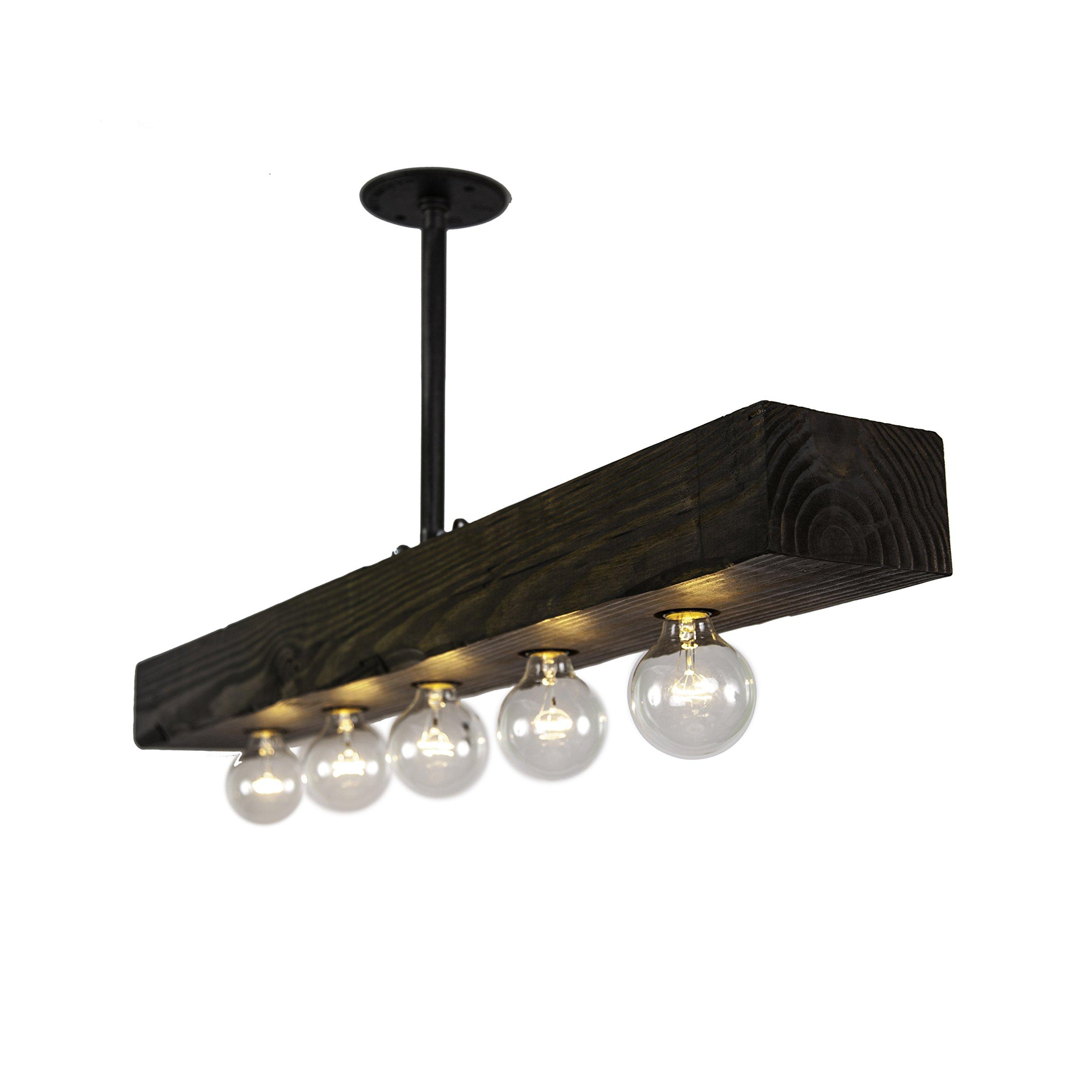 Recessed Wood Beam (5 Lights) by West Ninth Vintage