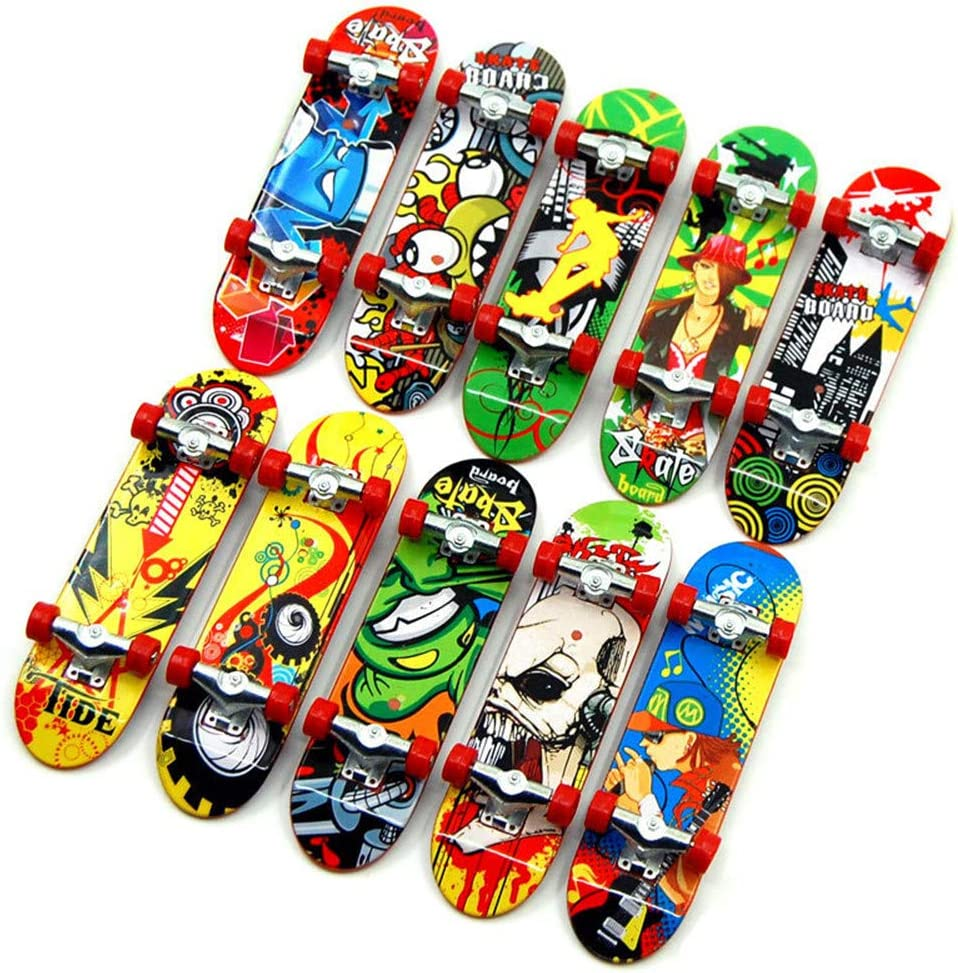 Finger Board Tech Deck Truck Skateboard Kid Children Party Toy Birthday Gift qwe