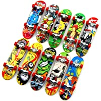 Topways® Fingerboard Finger Skateboards 6 Piezas, Mini diapasón