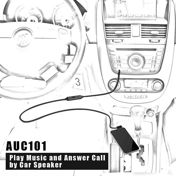 Amazon Jabees 35mm Aux Audio Cable To Connect Headphones