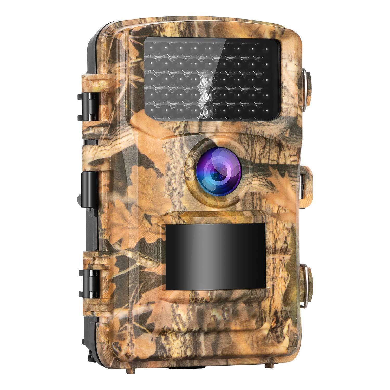 ずっと気になってた トレイルカメラ 1200万画素 1080P フルHD 監視カメラ 人感センサー 防犯カメラ 動き検知カメラ 赤外線LEDライト搭載 120°検知範囲 暗視カメラ   B07QQT6Y68, 池田町 1c754eaf