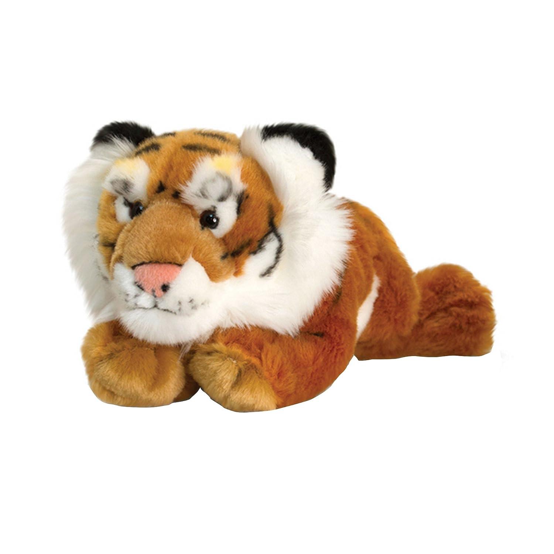Keel Spielzeug liegender Tiger Plüsch Spielzeug (Einheitsgröße) (Orange)