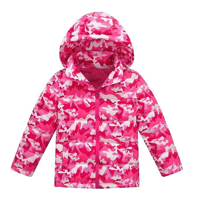 Niños abajo de la chaqueta,Stillshine Chaqueta de Pluma para Niños Niñas Ligero Abrigos con