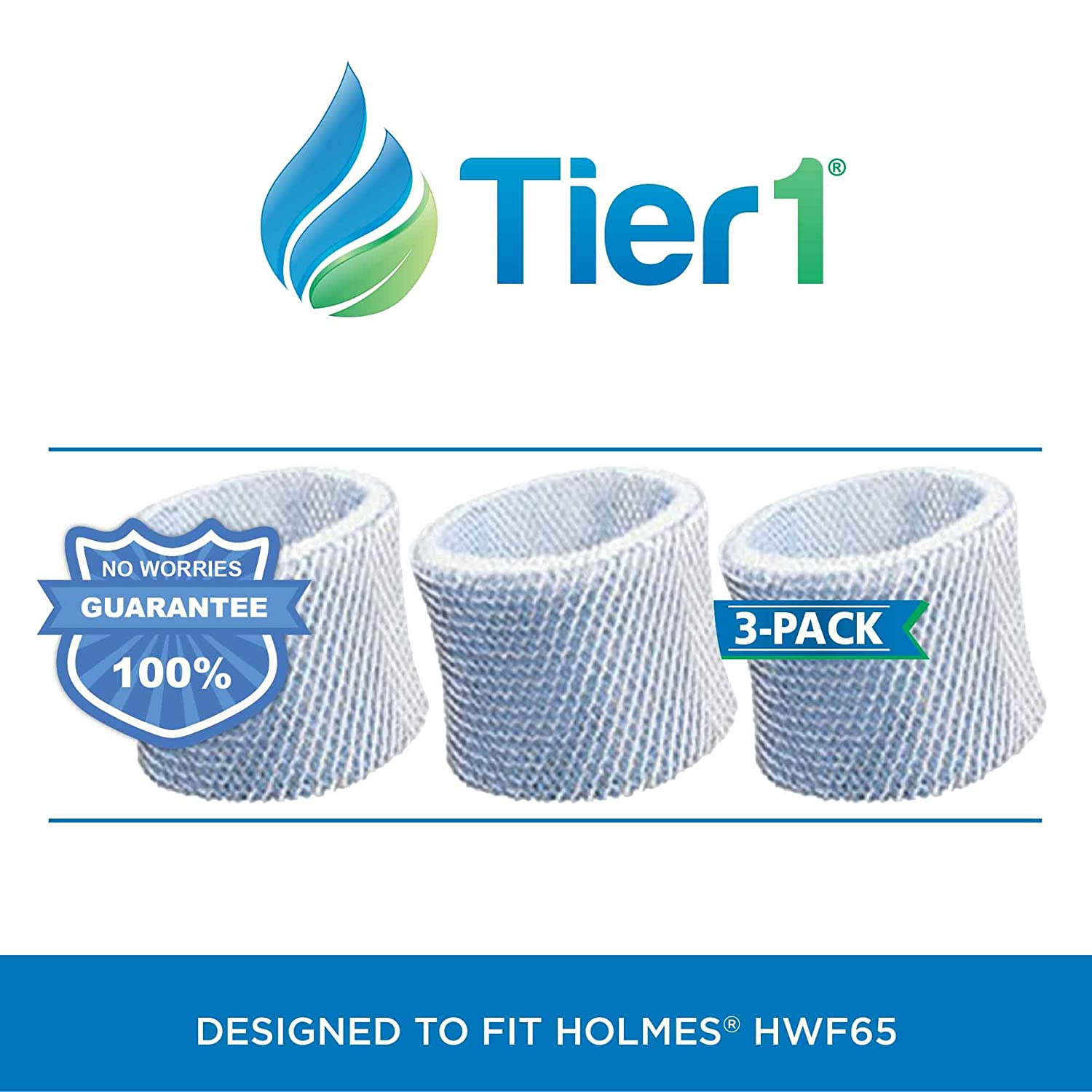 Tier1 Replacement for Holmes HWF65 HWF65PDQ-U Type C Humidifier Filter CECOMINOD028730