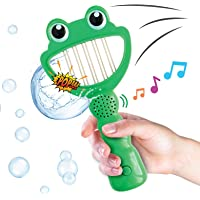 Move2Play Bubble Biters Frog - The Hilarious Bubble Popping Toy with 30+ Sound Effects, Perfect Outside Bubbles Gift for…