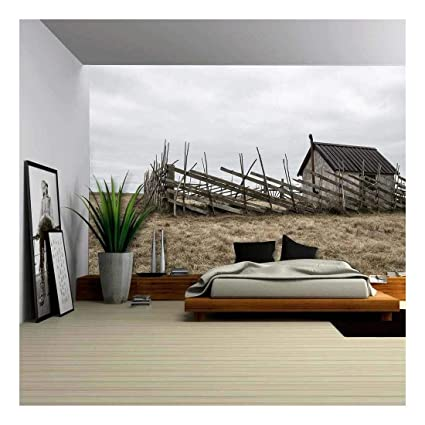 Removable Wallpaper Kitchen Island