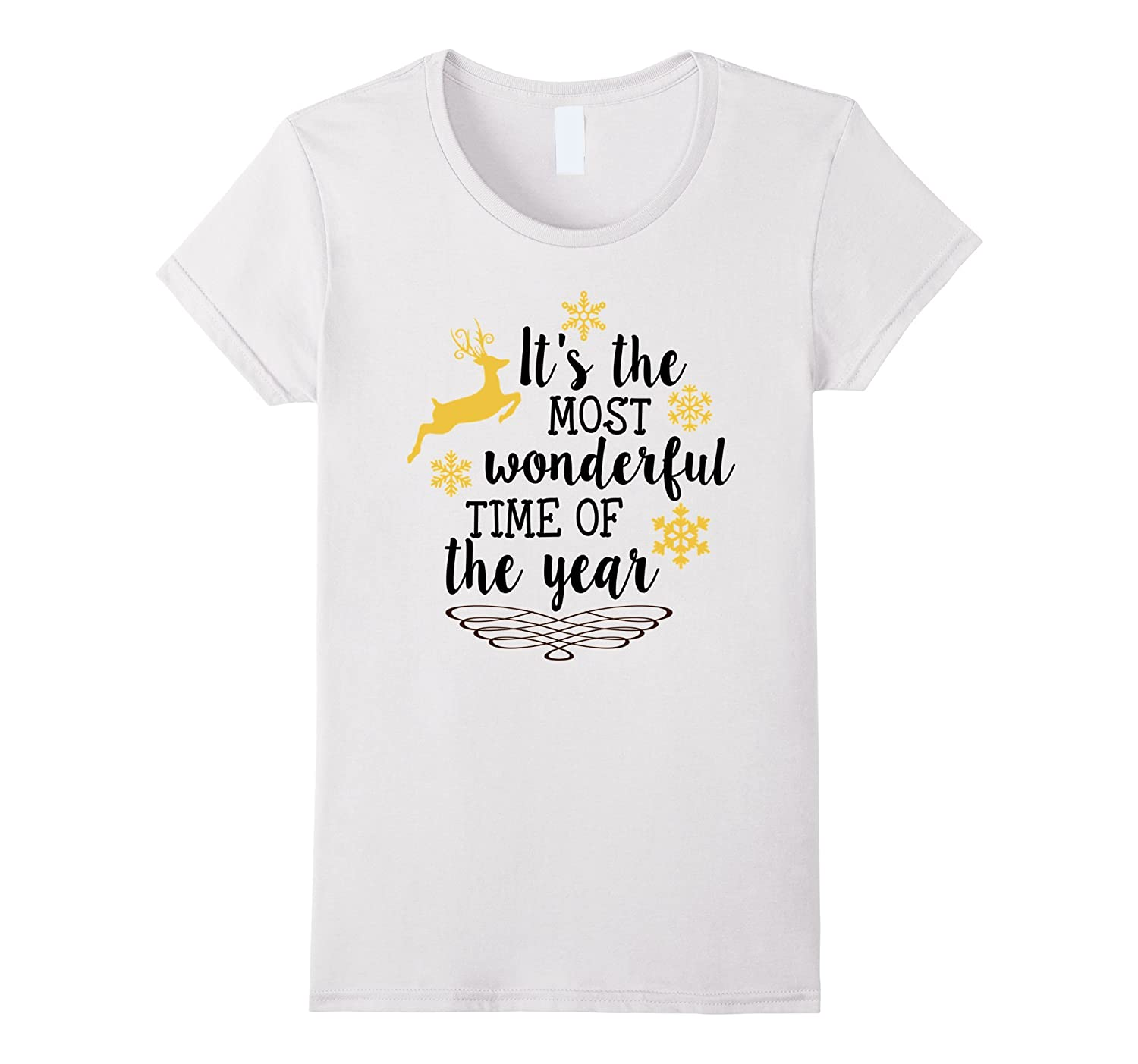 Womens It's The Most Wonderful Time Of The Year - Christmas Shirt-Rose