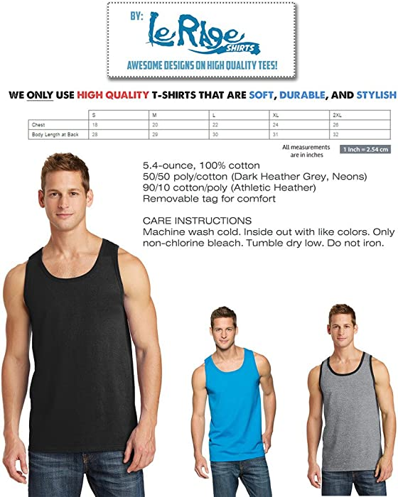 b62a4fee LeRage Shirts I Flexed and The Sleeves Fell Off Tank Top Gym Funny Shirt  Men's Black. Back. Double-tap to zoom