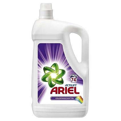 Detergente líquido Ariel Color, 4,810 l, 2 unidades (2 x 74 lavados)