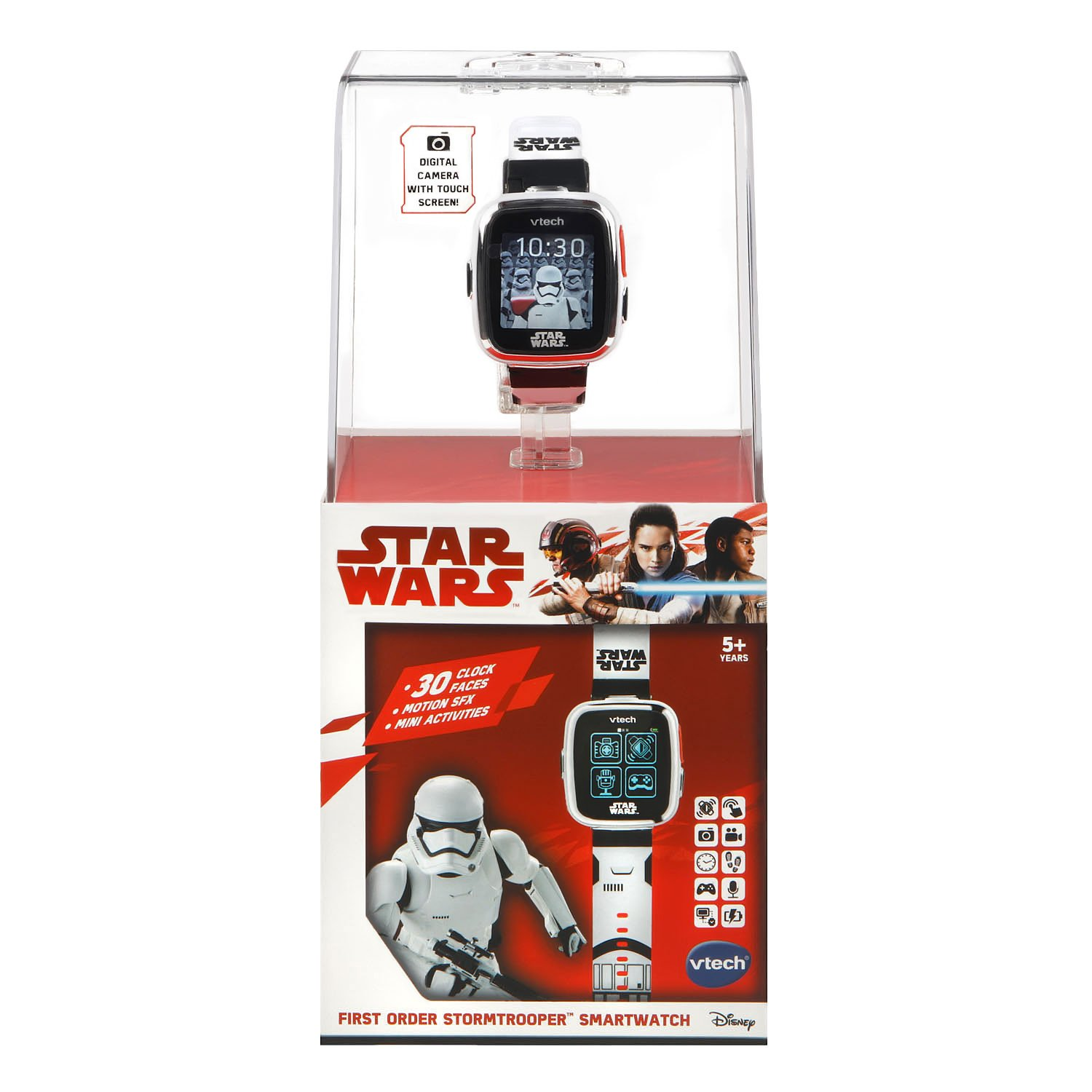 VTech Star Wars First Order Stormtrooper Smartwatch with Camera Amazon Exclusive, White by VTech (Image #7)