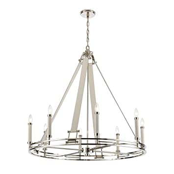 Amazon.com: Elk Lighting 16353/8 Bergamo - Lámpara de araña ...