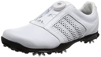 adidas Adipure Boa, Chaussures de Golf Femme, Blanc (White