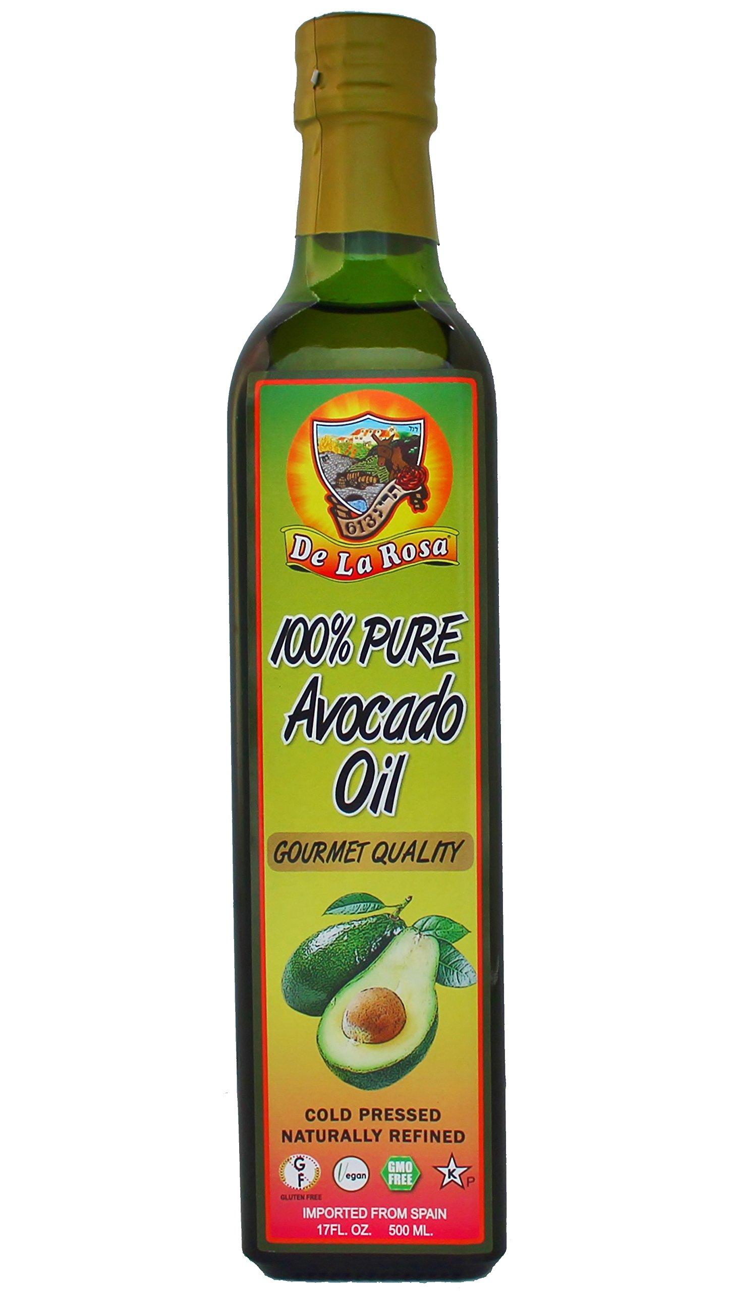 De La Rosa Real Foods & Vineyards - Pure Avocado Oil - 500ml