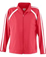 Augusta Sportswear WOMEN'S POLY/SPANDEX JACKET 2XL Red/White