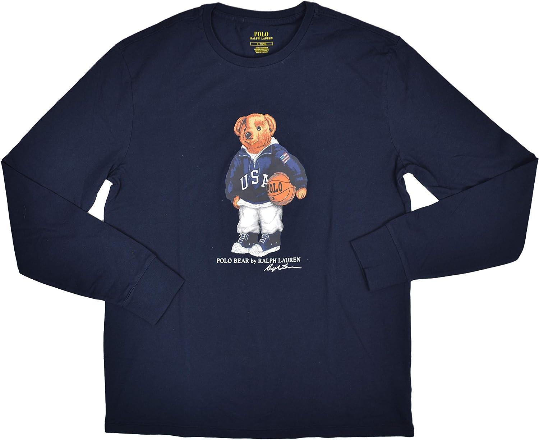 Polo RALPH Lauren - Camiseta para hombre, diseño de oso de ...