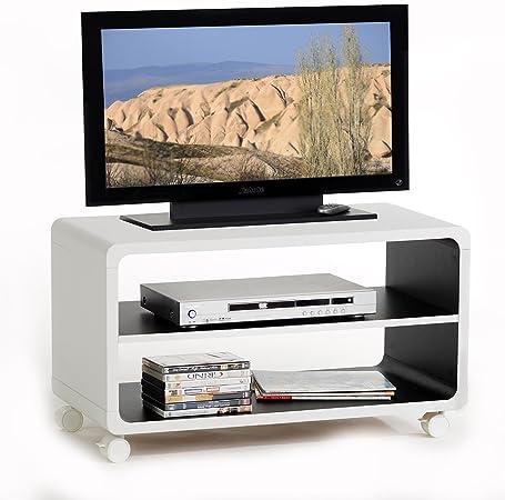 TV Rack – Mesa auxiliar, mueble bajo mesa de salón (Miami, 1 ...