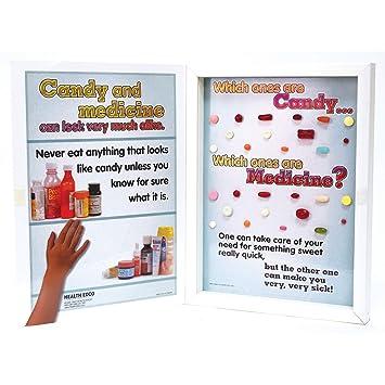 Amazon com: Medicine Cabinet or Candy Box? Display: Health