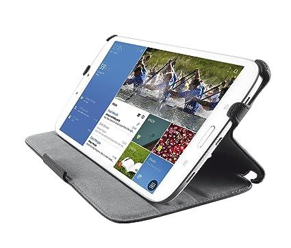 Trust Stile Samsung Galaxy Tab 4 7.0 Hülle - Schutzhülle mit Ständer für Samsung Galaxy Tab 4 7.0 Zoll schwarz