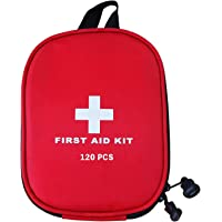 AUSELECT First Aid Kit 120pcs for Hiking, Backpacking, Camping, Travel, Car & Cycling with Waterproof Laminate Bags You…