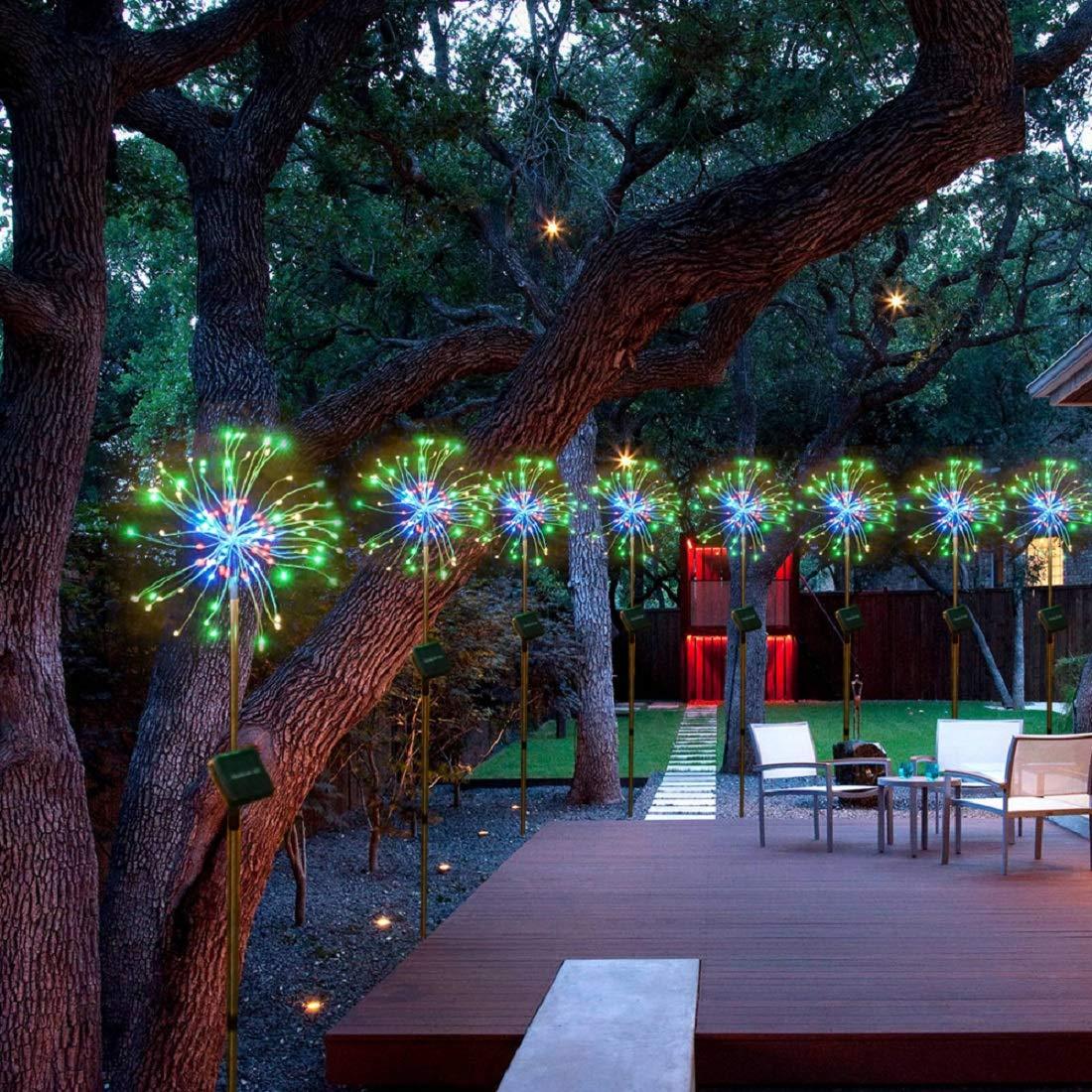 solar fairy light: Starburst String Lights