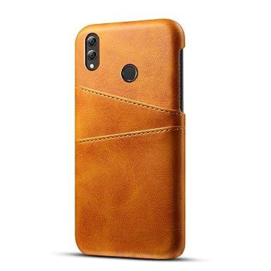 fitmore Huawei Enjoy Max Wallet Case, Stylish Slim PU Leather Back