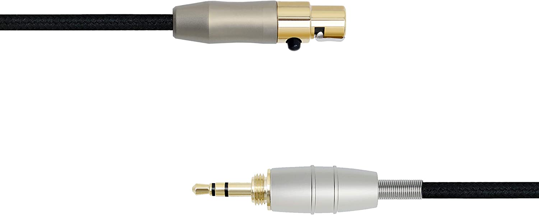 MiCity Upgrade Audio Kabel Kopfh/örer Cable f/ür AKG K141 K171 K181 Q701 K702 K271S K271 MKII K271 MKII K240S K240 MK2 Pioneer HDJ-2000