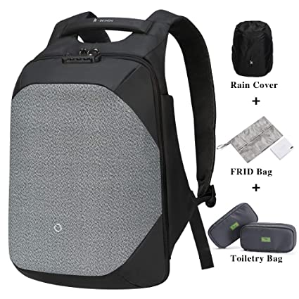 4bfc35ef1 Korin ClickPack Pro - Anti Theft Travel Backpack Laptop Backpack 15.6 inch  with USB Charging Port