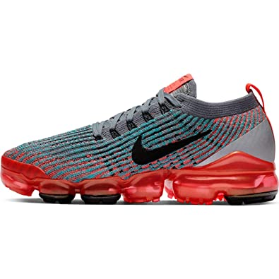 sports shoes d1996 3ed6c Nike Womens W Air Vapormax Flyknit 3 Flash Crimson/Black-Grey Flyknit