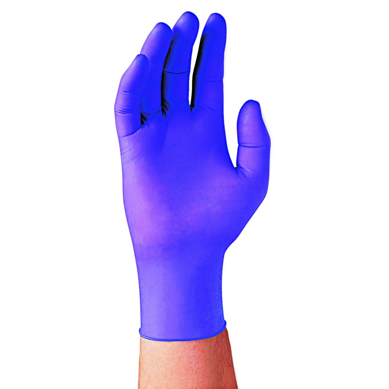 Halyard Health 55083 Purple Nitrile Exam Gloves, Large, 100 Per Box