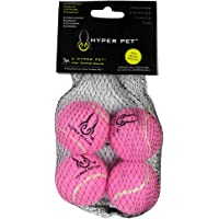 4-Pack Hyper Pet Mini Tennis Balls (Pink)