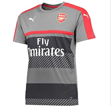 dee86580bf5 Arsenal FC 2016 17 Training Jersey - Youth - Steel Grey High Risk ...