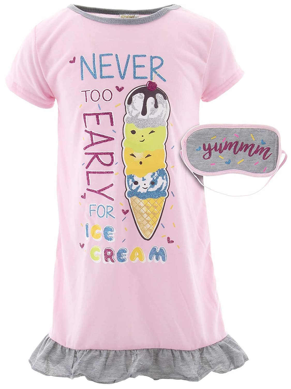 SWEET N SASSY Big Girls Ice Cream Nightgown