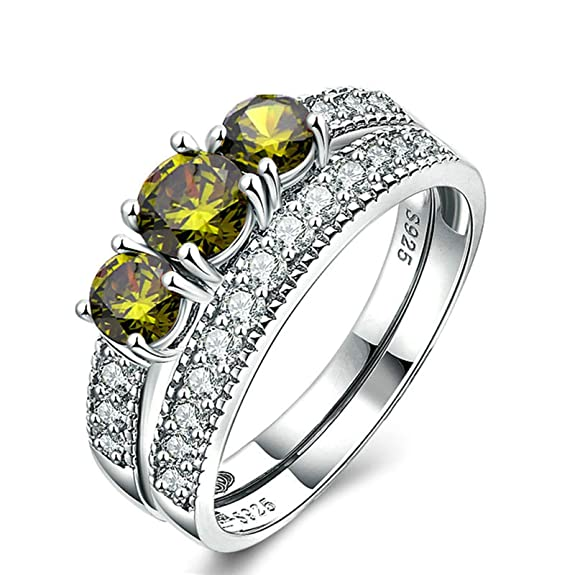 Amazon.com: Aooaz Rings Sterling Silver Cubic Zirconia Womens Ring Cubic Zirconia Rings Novelty Jewelry Gift: Jewelry
