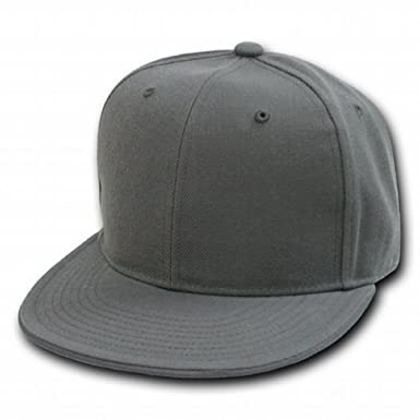 Image Unavailable. Image not available for. Color  Decky Orgianl CHARCOAL  Retro Fitted Baseball Caps - 7-1 8 - 5d25b78cff19