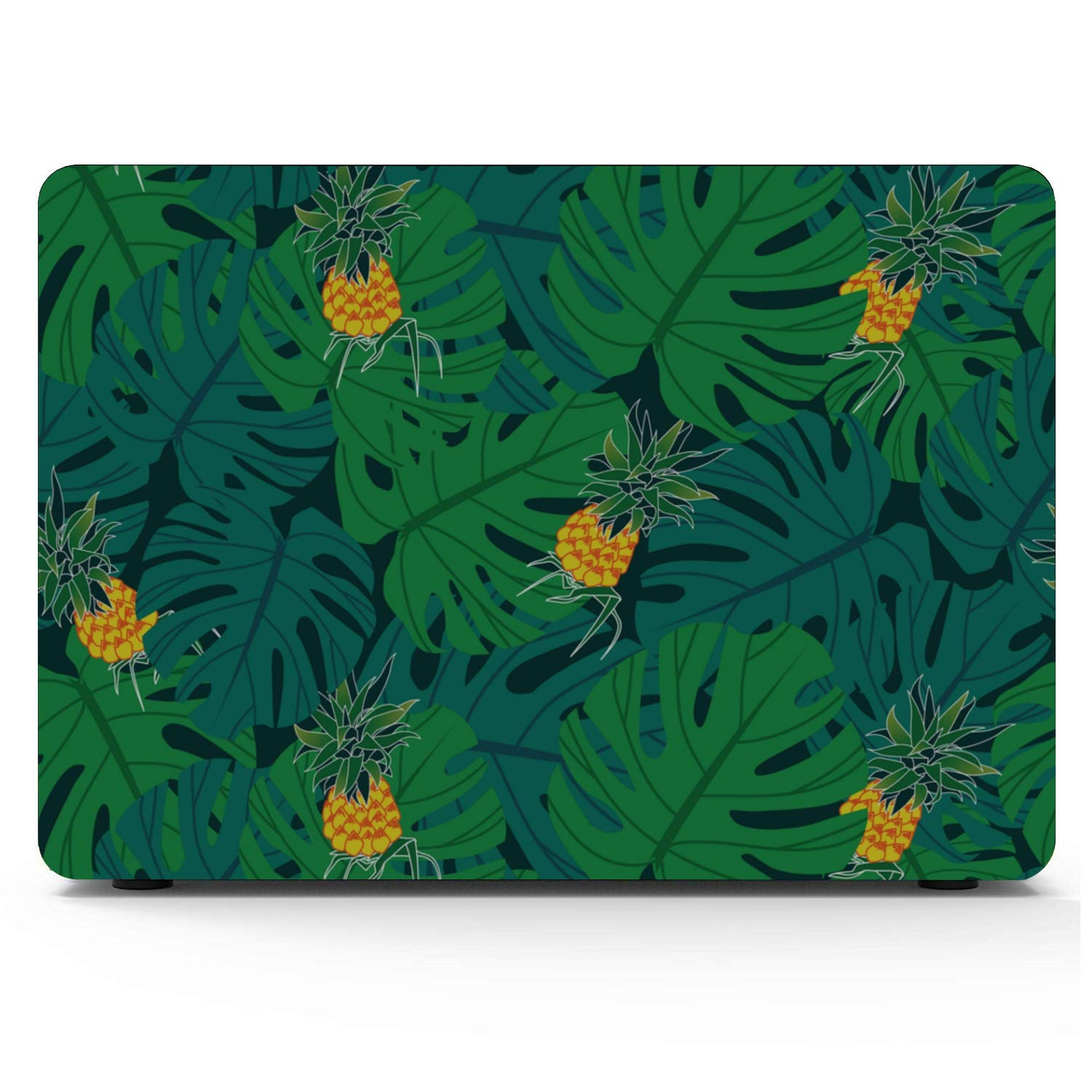 MacBook Air 2018 Case Summer Sweet Fresh Fruit Pineapple Plastic Hard Shell Compatible Mac Air 11 Pro 13 15 2018 MacBook Pro Case Protection for MacBook 2016-2019 Version