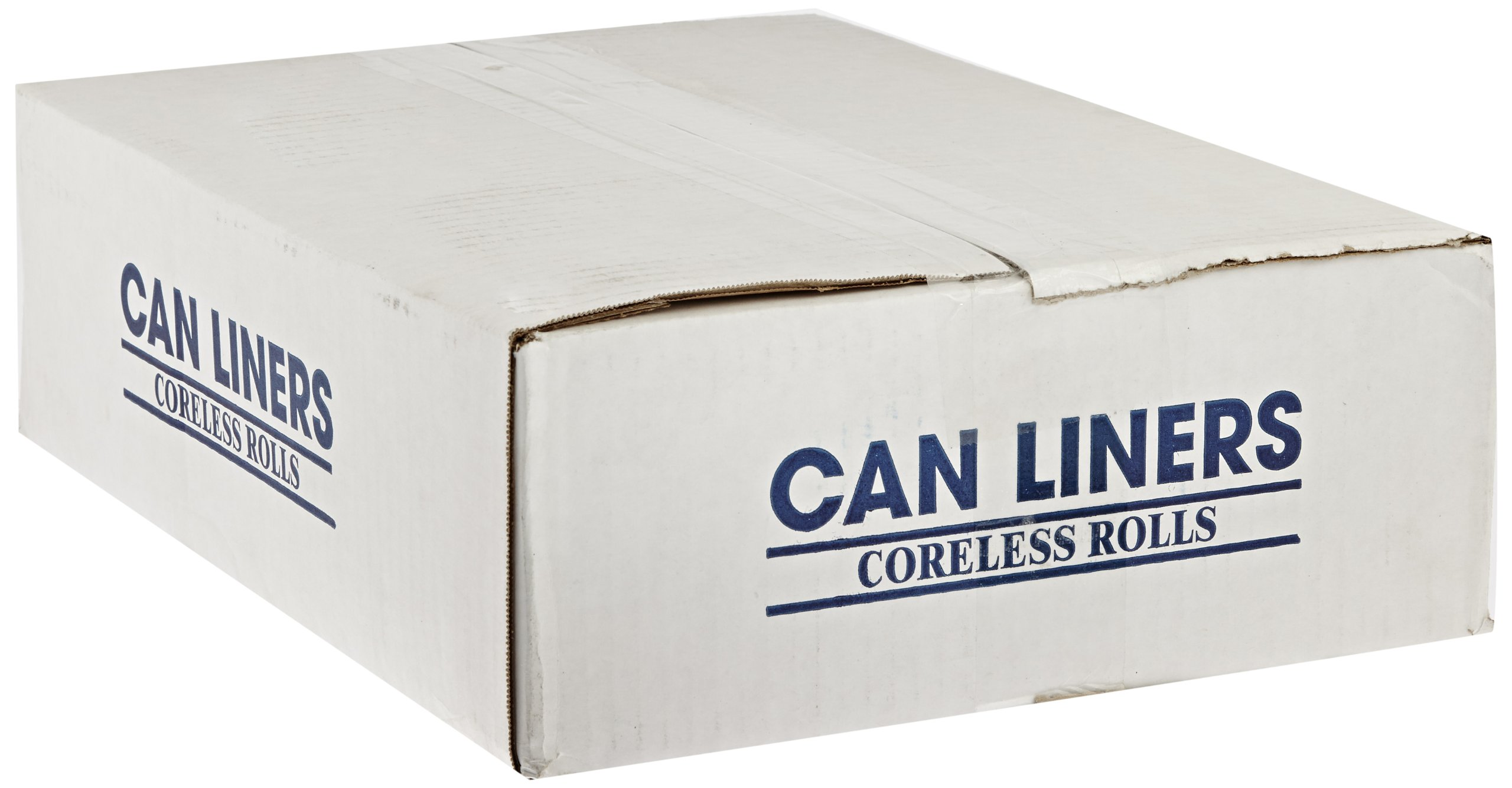 Spectrum CAMZ243308N CP243308N HDPE Institutional Trash Can Liner, 12-16 gallon Capacity, 33'' Length x 24'' Width x 8 micron Thick, Natural (Case of 1000)