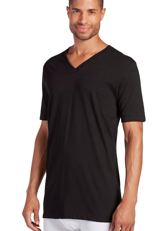eab5acdcea3d Amazon.com: Jockey Men's T-Shirts Big & Tall Classic V-Neck T-Shirt - 12  Pack: Clothing