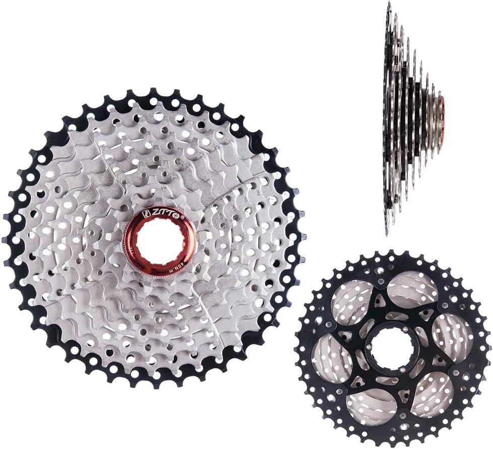 Lixada 9 Velocidades 11-40T MTB Bicicleta de Montaña Bicicleta Cassette Piñón Rueda Libre (9 Velocidades 11-40T)