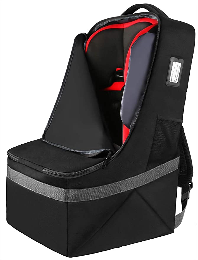 Car Seat Travel Bag - Optional Wheels for Easy Transport