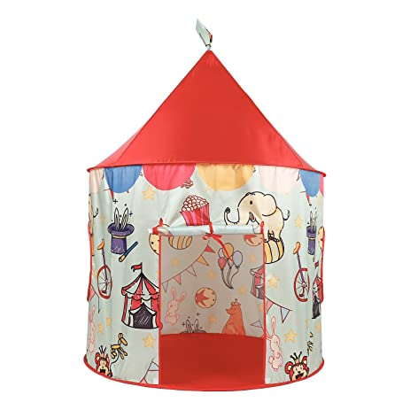 SpringBuds Circus Children Play Tent  Pop Up Play Tent for Kids Portable Playhouse for  sc 1 st  Amazon.com & Amazon.com: SpringBuds Circus Children Play Tent  Pop Up Play ...