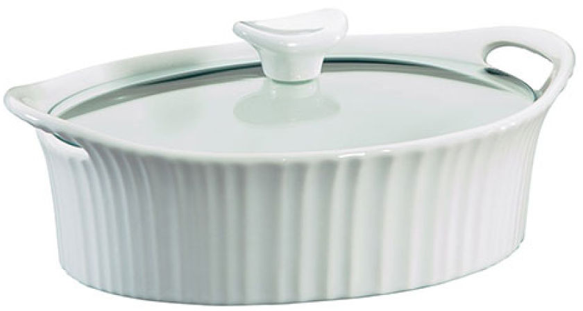 CorningWare® French White Casserole With Lid | Boscov's
