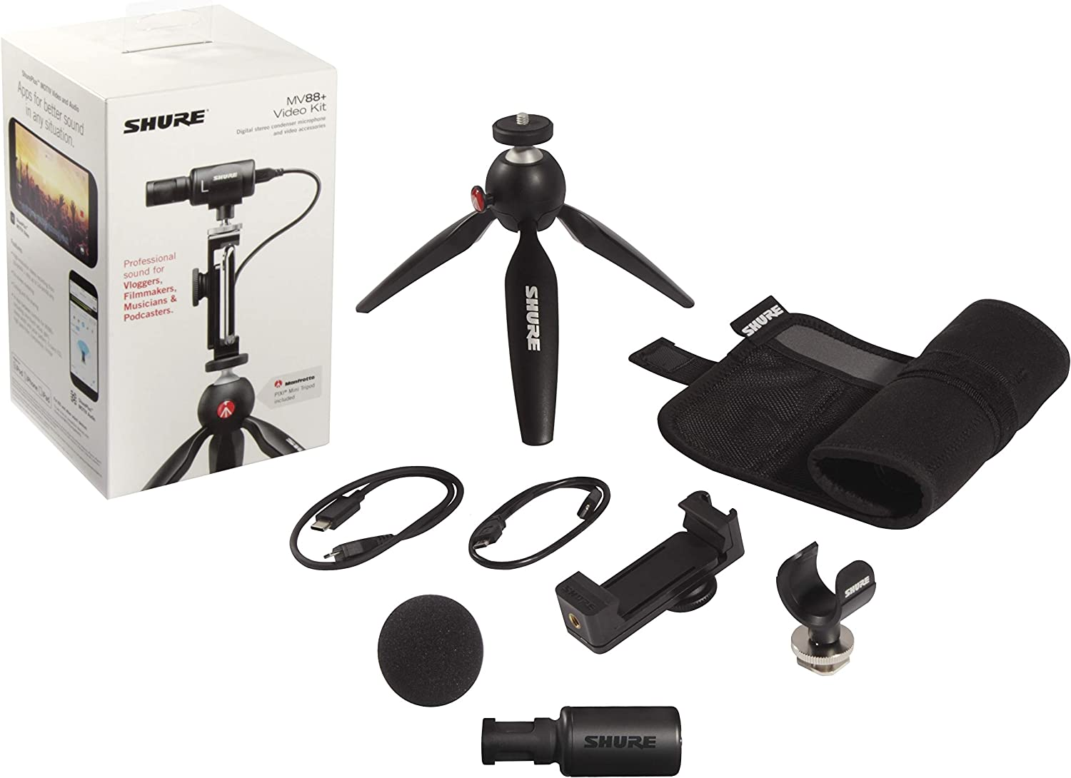 Shure Portable Videography Bundle